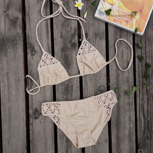 Crochet Swimwear Bikini Swimsuit