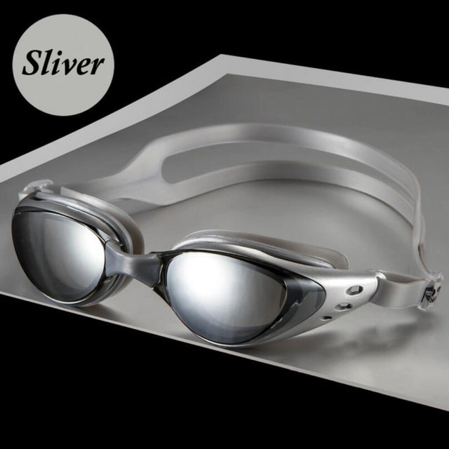 Anti Fog UV Protection Electroplate Waterproof Swim Goggles